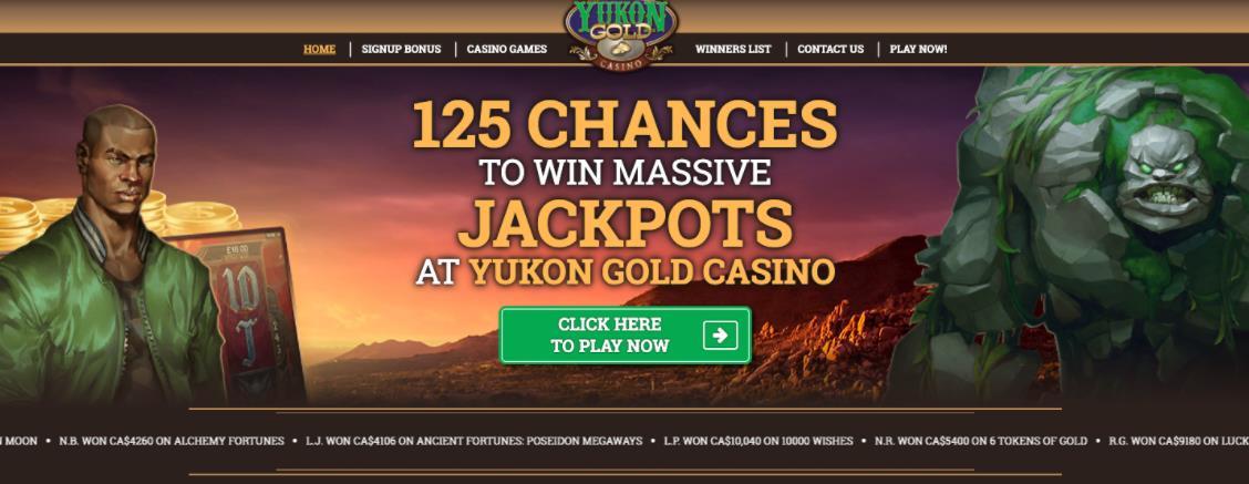 casino yukon gold canada