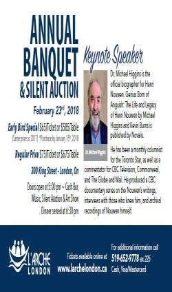 Annual Banquet & Silent Auction Feb. 23, 2018