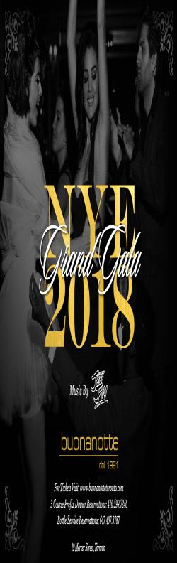 NEW YEARS GRAND GALA 2018