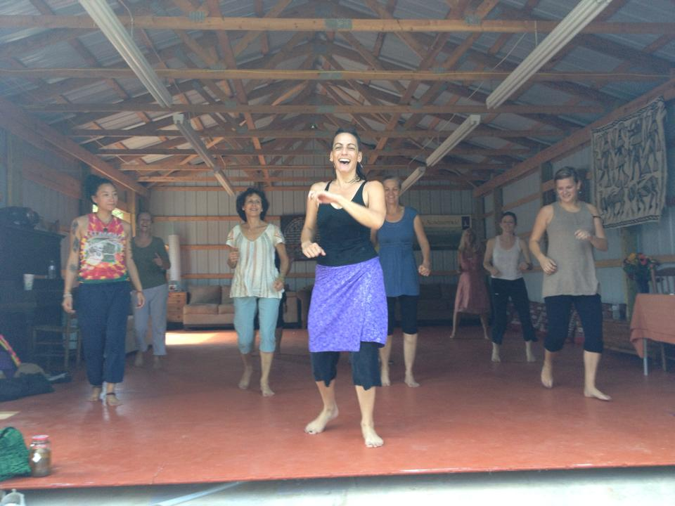 Dance Your Heart Out: A Sacred Dance Experience     Afro