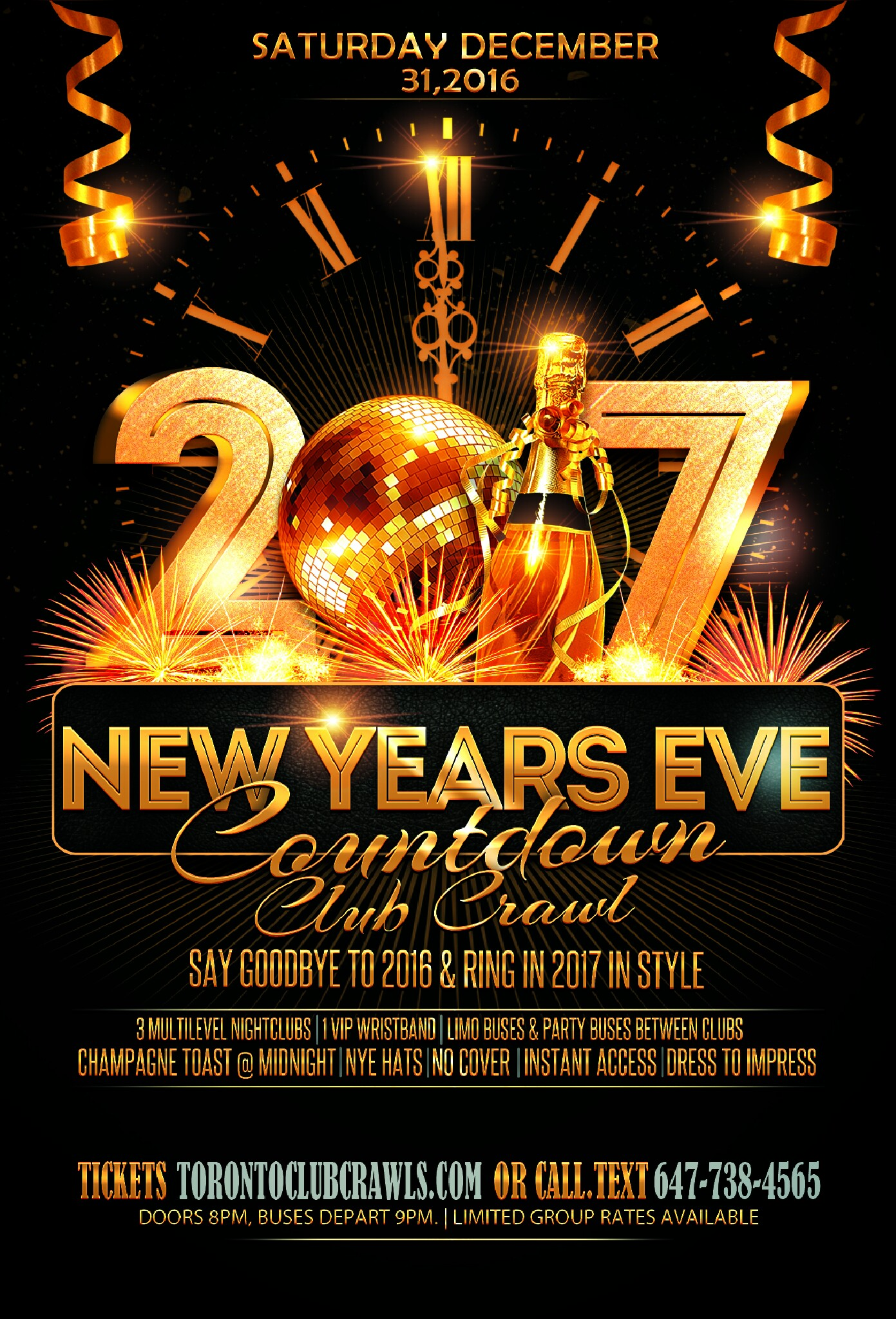 New Years Time Capsule Printable Questionnaire For Kids: Toronto New Years Eve Club Crawl Countdown 2017